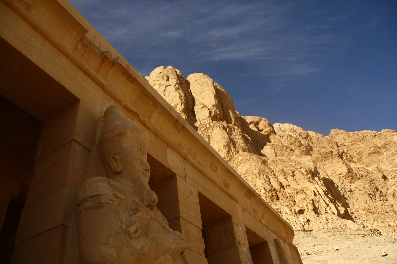 The Queen, who would be King: Visiting Karnak and Djeser-Djeser