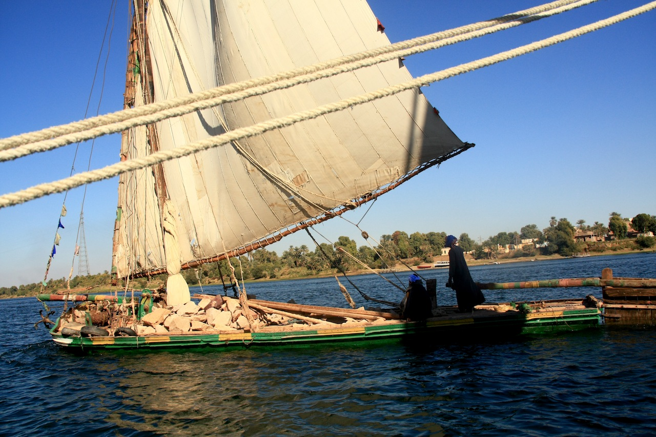 The Nile, lifeline of Egypt