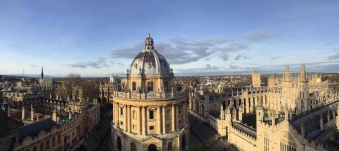 Goodbye, Oxford